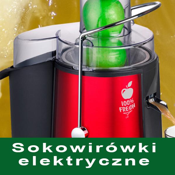 Sokowirówki elektryczne
