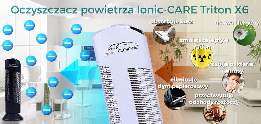 Oczyszczacz powietrza IONIC-CARE Triton X6