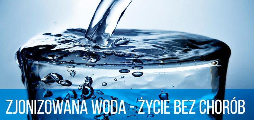 Zjonizowana woda - życie bez chorób